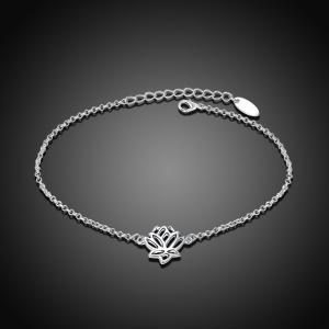 Anklet with Lotus Flower -