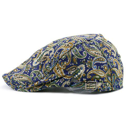 Chic Vintage Paisley Printed Newsboy Hat COLORFUL