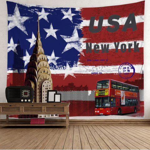 American Flag Wall Hanging colorful w59 inch * l79 inch wall hanging patriotic american flag