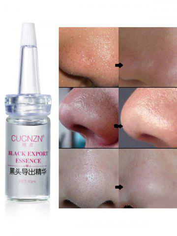 Chic 10ml*1pc Plant Essence Facial Blackheads Exporting Liquid WHITE