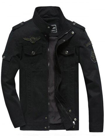 Discount Front Pocket Embroidery Patch Design Jacket