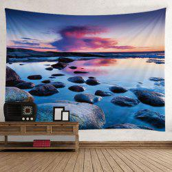Stone Sunset Print Tapestry Wall Hanging Art Decoration