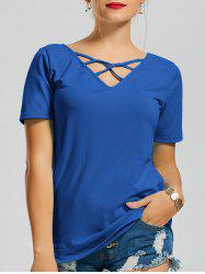 Cage V Neck Tee