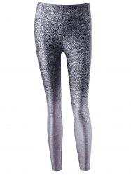 Tight Heather Yoga Leggings - GRAY