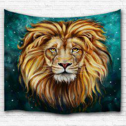 Lion Animal Printed Wall Hanging Tapestry