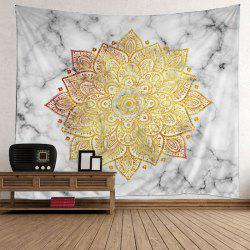 Bohemian Wall Hanging Flower Print Tapestry