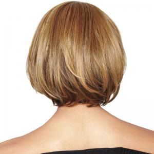 Colormix Short Bob Straight Synthetic Wig - COLORMIX