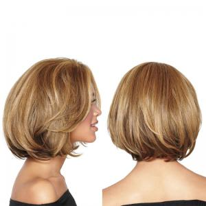 Colormix Short Bob Straight Synthetic Wig