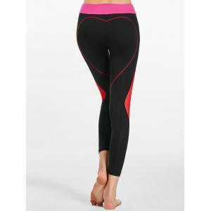 Funny  Heart Shaped Workout Leggings