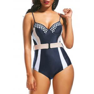 Low Back Underwire Padded One Piece Swimwear