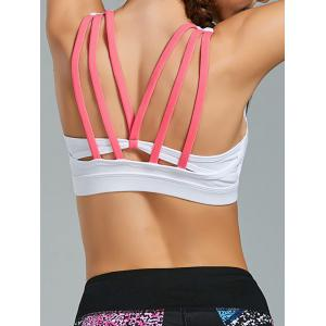 Padded Gym Bra with Straps
