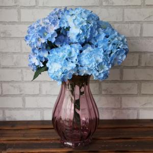 Accueil Salon Party Décoratif Ombre Artificial Flowers - Bleu