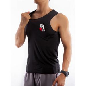 Round Neck Fitted Quick Dry Rayon Tank Top