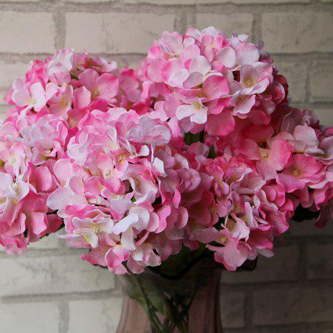 Cheap Home Living Room Party Decorative Ombre Artificial Flowers - PINK  Mobile