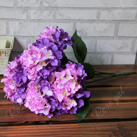 Online Home Living Room Party Decorative Ombre Artificial Flowers - PURPLE  Mobile