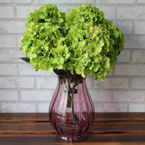 Unique Home Living Room Party Decorative Ombre Artificial Flowers DEEP GREEN