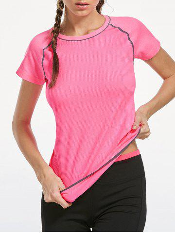 New Breathable Raglan Sleeve Gym T-shirt