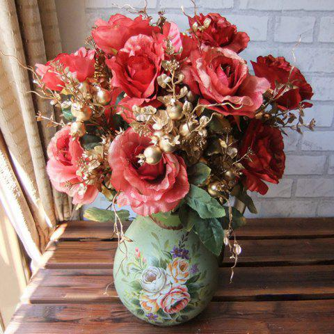 Unique Home Living Room Party Decoration Vintage Artificial Flowers
