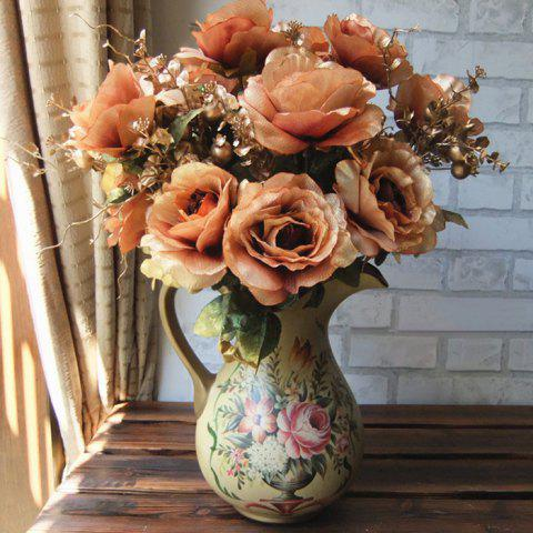 Best Home Living Room Party Decoration Vintage Artificial Flowers