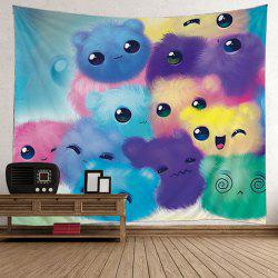 Home Decor Cartoon Cats Pattern Tapestry -