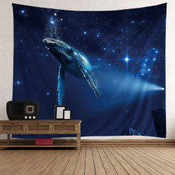 Wall Hanging Whale Print Tapestry