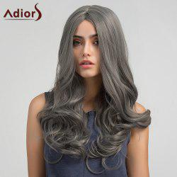 Adiors Long Middle Part Layered Wavy Synthetic Wig