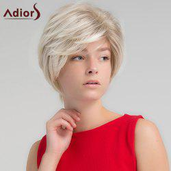 Adiors Short Colormix Side Part Shaggy Straight Synthetic Wig