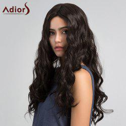 Adiors Long Center Parting Shaggy Layered Wavy Synthetic Wig