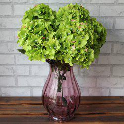 Home Living Room Party Decorative Ombre Artificial Flowers - DEEP GREEN