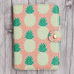 PU Leather Print Passport Holder
