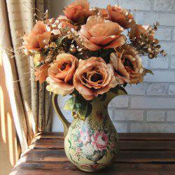Home Living Room Party Decoration Vintage Artificial Flowers -