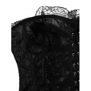 Body Shaping Lace Criss Cross Corset -