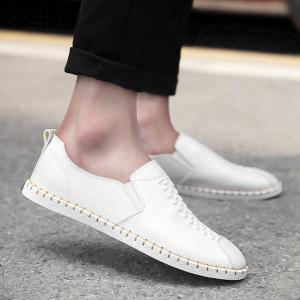 Stitching Woven Casual Shoes
