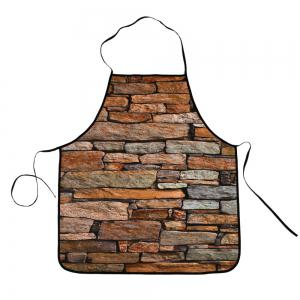 Vintage Brick Polyester Cooking Apron