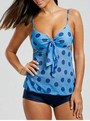 Polka Dot Mesh One Piece Swimsuit