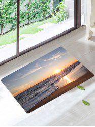 Sunset Beach Antiskid Soft Area Rug