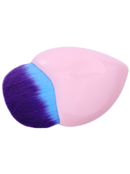 Heart Shape Fiber Foundation Brush