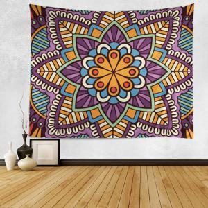 Wall Hanging Art Decoration Mandala Print Bohemian Tapestry - Colormix - W79 Inch*l59 Inch