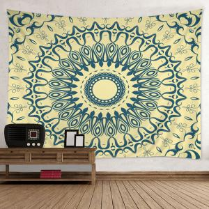 Mandala Print Tapestry Bedspread Wall Hanging Art Decor - Colormix - W79 Inch*l59 Inch