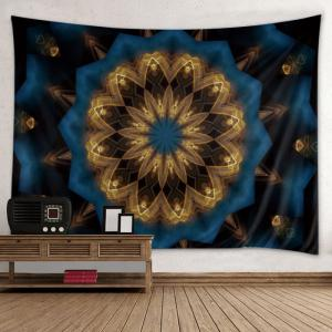 Mandala Print Cool Tapestry Wall Hanging Art Decoration - Colormix - W59 Inch*l51 Inch