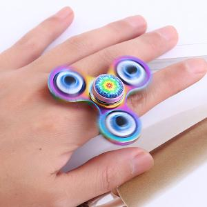 fidget spinner earrings colormix edc eye fidget spinner ring rosegal 5530