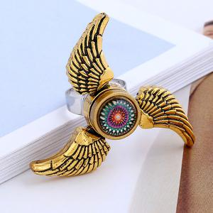 Angel Wings EDC Hand Fidget Spinner Ring