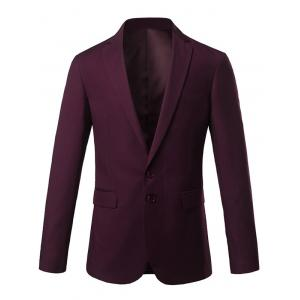 Slim Fit Lapel Single Breasted Casual Blazer