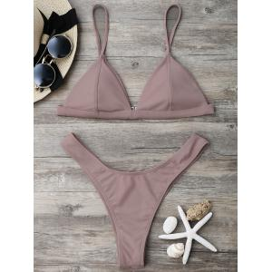High Cut Thong Bikini Set