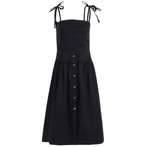 Fit and Flare Midi Dress -