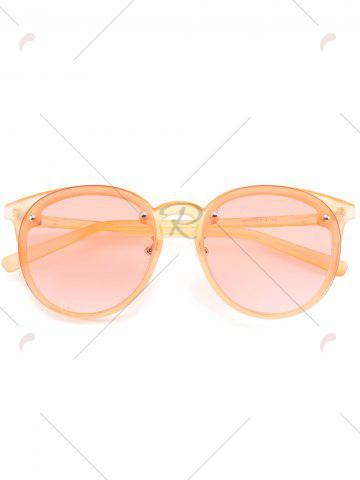 Trendy Ombre Anti UV Sunglasses - PEARL KUMQUAT  Mobile