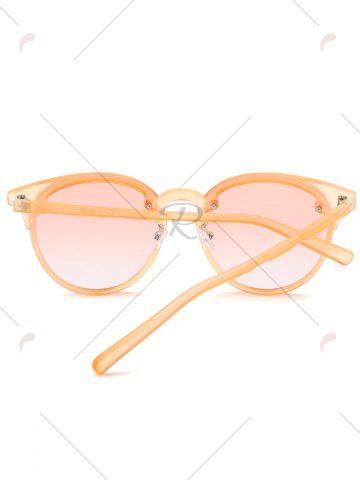New Ombre Anti UV Sunglasses - PEARL KUMQUAT  Mobile