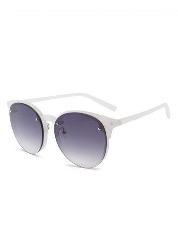 Fashion Ombre Anti UV Sunglasses - GRAY  Mobile