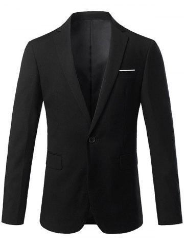 Blazer Slim Fit Lapel One Button Edging Blazer