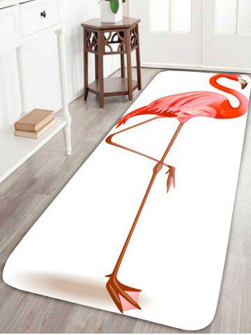 Shop Coral Velvet Flamingo Large Area Rug
